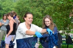 Indigo Dye with Ztine at Goddard College