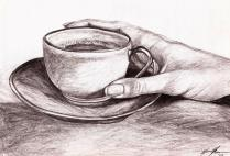 Having a Cup